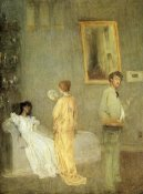 James McNeill Whistler - Artist In His Studio