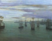 James McNeill Whistler - Crepuscule In Flesh Colour And Green Valparaiso 1866
