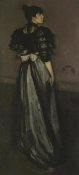 James McNeill Whistler - Mother Of Pearl And Silver The Andalusian 1888