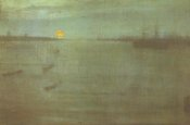 James McNeill Whistler - Nocturne Blue And Gold Southampton Water 1872