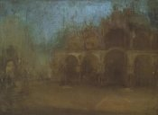 James McNeill Whistler - Nocturne Blue And Gold St Marks Venice 1879