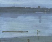 James McNeill Whistler - Nocturne Blue And Silver Chelsea