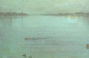 James McNeill Whistler - Nocturne Blue And Silver Cremorne Lights 1872