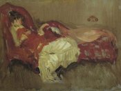 James McNeill Whistler - Note In Red The Siesta 1883