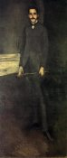 James McNeill Whistler - Portrait Of George W Vanderbilt 1897