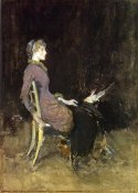 James McNeill Whistler - Study In Black And Gold Madge O'Donoghue 1883