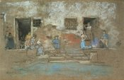 James McNeill Whistler - The Steps 1880