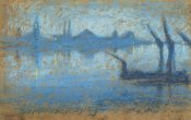 James McNeill Whistler - The Thames 1871
