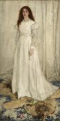 James McNeill Whistler - The White Girl