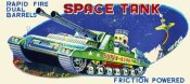 Retrobot - Rapid Fire Dual Barrell Space Tank