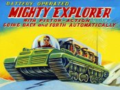 Retrobot - Mighty Explorer with Piston Action