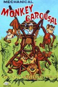 Retrobot - Mechanical Monkey Carousal