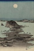 Ando Hiroshige - Evening view of the eight famous sites at Kanazawa in Musashi Province #2