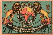 Phillumenart - Hindusthan Safety Matches