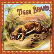 Unknown - Tiger Brand Tobacco Label