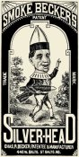 Vintage Booze Labels - Smoke Beckers Silver-Head