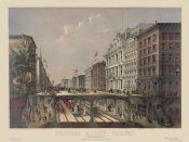 Unknown - Elevated Railway Near Wall Street