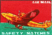 Unknown - Air Mail Safety Matches