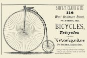 Unknown - Bicycles, Tricycles, and Velocipedes