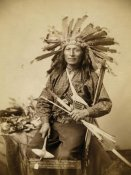John C.H. Grabill - Little, the instigator of Indian Revolt at Pine Ridge, 1890 I