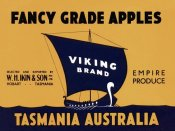 Retrolabel - Viking Brand Fancy Grade Apples