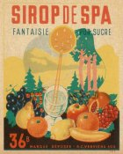 Vintage Booze Labels - Sirop de Spa