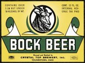 Vintage Booze Labels - Bock Beer