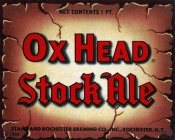 Vintage Booze Labels - Ox Head Stock Ale