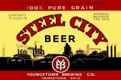 Vintage Booze Labels - Steel City Beer