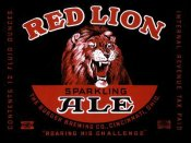 Vintage Booze Labels - Red Lion Ale