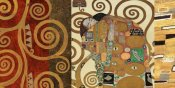 Klimt Patterns - The Embrace Gold