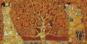 Gustav Klimt - Tree of Life Red Variation