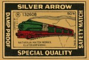 Phillumenart - Silver Arrow Safety Matches
