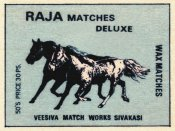 Phillumenart - Raja Matches Deluxe