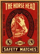 Phillumenart - The Horse Head Safety Matches