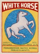 Phillumenart - White Horse Matches
