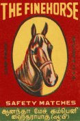 Phillumenart - The Fine Horse Safety Matches