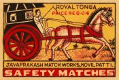 Phillumenart - Royal Tonga Safety Matches