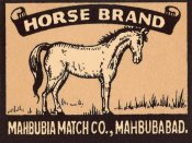 Phillumenart - Horse Brand Matches