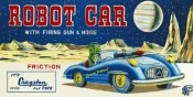 Retrotrans - Robot Car with Firing Gun & Noise