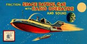 Retrorocket - Space Patrol Car with Radio Operator