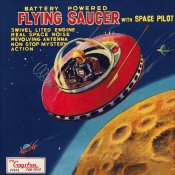 Retrorocket - Battery Operated Flying Saucer