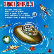 Retrorocket - Space Ship X-5