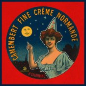 Retrolabel - Camembert fine creme Normande