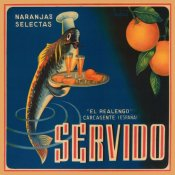 Retrolabel - Servido Selected Oranges