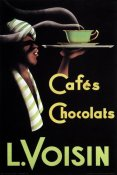 Retrolabel - Cafes Chocolats L. Voisin