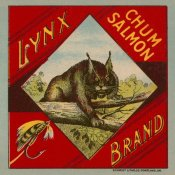 Retrolabel - Lynx Brand Chum Salmon