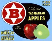 Retrolabel - Fancy Grade Selected Tasmanian Apples
