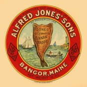 Retrolabel - Jones Celebrated Finnan Haddie