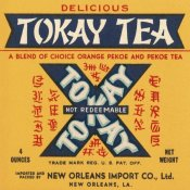 Retrolabel - Tokay Tea